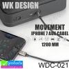 สายหูฟัง WK AUX 3.5mm for iPhone 7 (WDC-021) ราคา 179 บาท ปกติ 475 บาท
