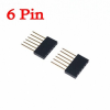 1X6 Pin 11mm Long Single Row Female Header 2.54mm Pitch Straight