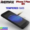 ฟิล์มกระจก iPhone 7 Plus Remax tempered glass ราคา 165 บาท ปกติ 390 บาท ความแข็ง 9H