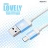 สายชาร์จ Micro USB (5 pin) Remax Lovely RC-010m แท้ 100% ราคา 78 บาท ปกติ 250 บาท
