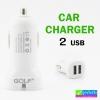 ที่ชาร์จรถ Golf 2 USB (1A. / 2.1A.) GF-C03 ลดเหลือ 100 บาท ปกติ 250 บาท
