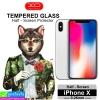 ฟิล์มกระจก iPhone X XO แบบไม่เต็มจอ ราคา 100 บาท ปกติ 300 บาท
