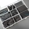 ชุดเซต ท่อหดสีดำ สำหรับหุ้มสายไฟพร้อมกล่องใส่ (Set 405 ชิ้น)