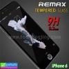 ฟิล์มกระจก iPhone 6/6s Remax tempered glass ราคา 149 บาท ปกติ 620 บาท ความแข็ง 9H