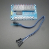 8-Digit 7 Segment Display with 8 LED and 8 Push Switches (แถมสายต่อฟรี)