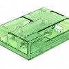 Raspberry Pi 3/2B/3B+ Transparent Enclosure (Green)