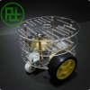2WD Smart Car Chassis (3 ชั้น) มาพร้อม Motor และ Wheel Encoder