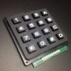 4x4 Matrix Keypad Module (Black Keypad)