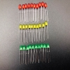 3mm LED Pack (red, green, yellow) 10 each 30 pcs