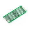 Through hole Universal Prototyping PCB Board size 3x7 cm (แผ่น PCB ไข่ปลา 2 หน้า)