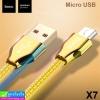 สายชาร์จ hoco X7 Micro ราคา 55 บาท ปกติ 140 บาท