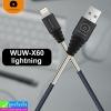 สายชาร์จ WUW-X60 iPhone ราคา 115 บาท ปกติ 280 บาท