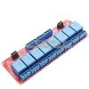 5V 8 Channel Relay High/Low Level Trigger Relay Module (Red PCB)