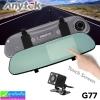 กล้องติดรถยนต์ Anytek G77 ติดกระจกมองหลัง 2 กล้อง จอทัชสกรีน ราคา 1,670 บาท ปกติ 4,170 บาท