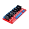 Keyes 8 Channel Solid State Relay Module (SSR) Red PCB
