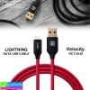 สายชาร์จ USB Type-C Recci Velocity RCT-N120 ราคา 100 บาท ปกติ 300 บาท