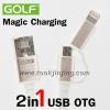 สายชาร์จ Magic Charging 2 in 1 GOLF Micro USB/iPhone 5/6 GC-02t แท้ 100% ราคา 160 บาท ปกติ 400 บาท