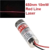 Adjustable Laser Tube 650nm 10mW - Line Laser (แสงตกบนฉากเป็นเส้นตรงปรับความหนาเส้นได้)