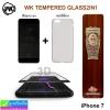 ฟิล์มกระจก iPhone 7 WK 3D ความแข็ง 9H ราคา 180 บาท ปกติ 440 บาท