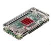 Transparent Acrylic Case for Raspberry Pi Zero W แถมฟรี Heatsink