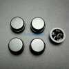 สีดำ B3F Tactile Switch Cap Round Button Cap 12x12x7.3mm แพค 5 ตัว