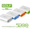 Power Bank Golf 5200 mAh Tiger 206 ลดเหลือ 205 บาท ปกติ 600 บาท