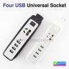 ปลั๊กไฟ Four USB Universal Socket FU-4U (4.8A) ราคา 250 บาท ปกติ 625 บาท