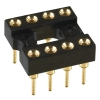 8-pin Socket (DIP-8) Gold-plated