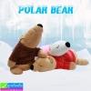 ตุ๊กตา หมีขั้วโลกใส่เสื้อ ราคา 570 บาท ปกติ 1,710 บาท