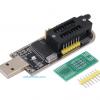 CH341A 24 25 Series EEPROM Flash BIOS USB Programmer + LED Indicator