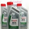 น้ำมันเกียร์ รถจักรยานยนต์ 2 จังหวะ Castrol MTX ขาด 1 L