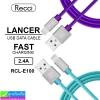 สายชาร์จ iPhone 5,6,7 Recci LANCER RCL-E100 ราคา 90 บาท ปกติ 270 บาท