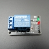 3V 1 Channel Relay Low-Level Trigger Relay Module (with LED - PCB สีดำ มีช่องสกรูให้ยึด)
