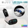 ที่ชาร์จในรถ LED DUAL USB CAR CHARGER RCF-R58 ราคา 300 บาท ปกติ 750 บาท