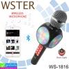 ลำโพง บลูทูธ+ไมโครโฟน WSTER WS-1816 ราคา 410 บาท ปกติ 1,025 บาท