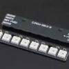 NeoPixel Bar 8 WS2812 RGB LED Black PCB