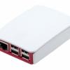 Official Raspberry Pi B+/2/3/ 3B+ Case (Red & White Color) สีแดงขาว มีโลโก้ Pi