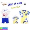 ชุด เด็กอ่อน CHILD OF MINE Sport Duo เซ็ท 2ตัว ราคา 240 บาท ปกติ 700 บาท