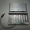 รางถ่าน 8 ก้อน AA 12V (ก้อนละ 1.5V) 1 ด้าน แบบมีฝาปิด และมีสวิทช์เปิดปิด