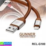 สายชาร์จ iPhone 5,6,7 Recci GUNNER RCL-G100 ราคา 120 บาท ปกติ 390 บาท