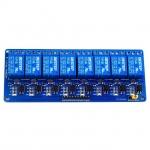 8 Channel Relay 24V 10A (Optocoupler) รีเลย์ 8 ช่อง (คละยี่ห้อของหัวลีเลย์)