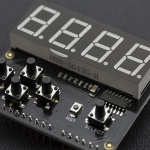 7 Segment LED Keypad Shield For Arduino (ของ DFRobot)