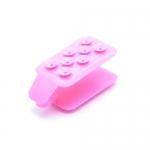 ที่วางโทรศัพท์ แบบตัวดูด สีชมพู