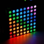 LED Dot Matrix 8x8 Full Color RGB ขนาด 60mm x 60mm (Common Cathode)