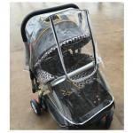 ผ้าคลุมรถเข็นกันฝน กันฝุ่น และป้องกันรังสี UV แบบใส