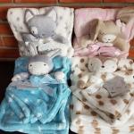 ผ้าห่ม และผ้าหัวตุ๊กตากอด Luvena Fortuna