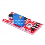 Arduino KY-038 Sound Sensor Module (with Analog & Digital Outputs) - Flat Head