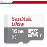 SanDisk Ultra MicroSDHC SDCard 16GB Class10 (48MB/s 320X)
