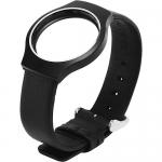 สายหนังรัดข้อมือ นาฬิกาเพื่อสุขภาพ สีดำ
