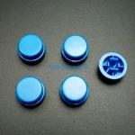 สีน้ำเงิน B3F Tactile Switch Cap Round Button Cap 12x12x7.3mm แพค 5 ตัว